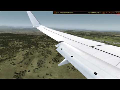 [P3D] PMDG NGX 738 LANDING YSCB RWY35 - FLIGHT DECK | VIRGIN AUSTRALIA | VATSIM