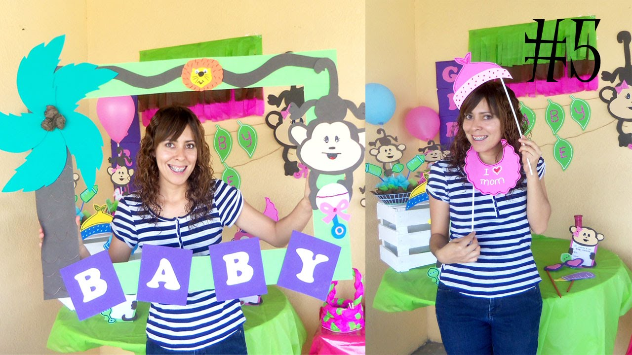 Marco de fotos paso a paso // COMBO Baby Shower Video #5 RECICLAJE ...