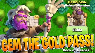 UNLOCKING THE NEW PRIMAL WARDEN AND SPENDING TONS OF LOOT! - Clash of Clans