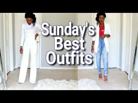 What I Wore to Church This Past Month Haul...