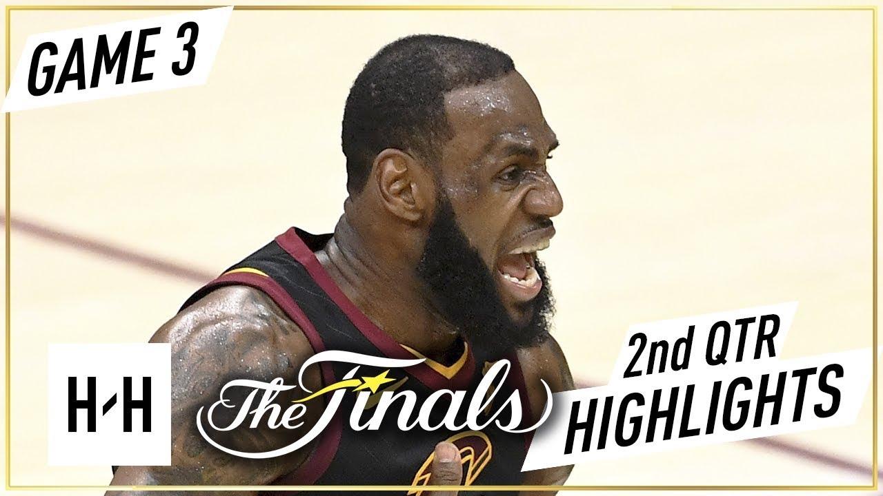 Golden State Warriors vs Cleveland Cavaliers - Game 3 - 2nd Qtr Highlight | 2018 NBA Finals