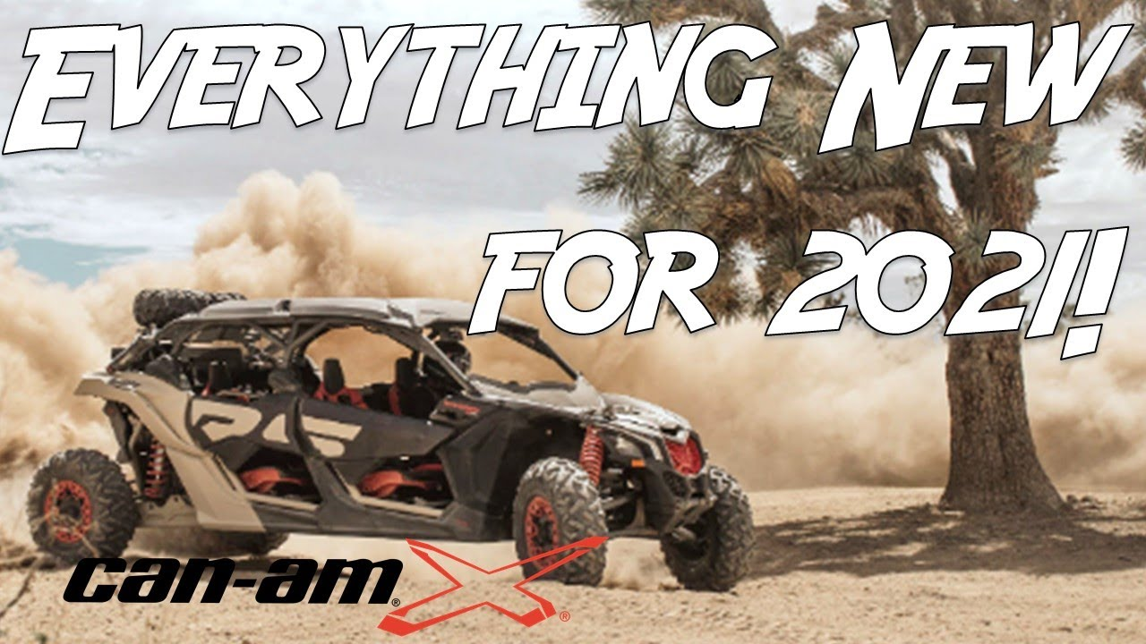2021 Can am Maverick X3 - What's new?