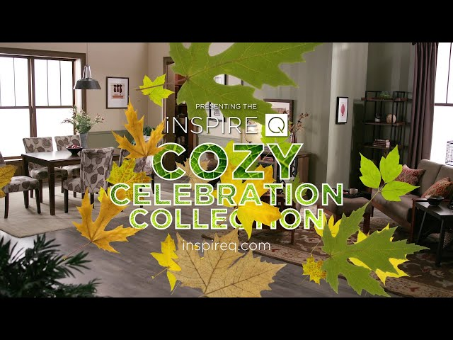 Cozy Celebrations Begin with Stylish Comfort