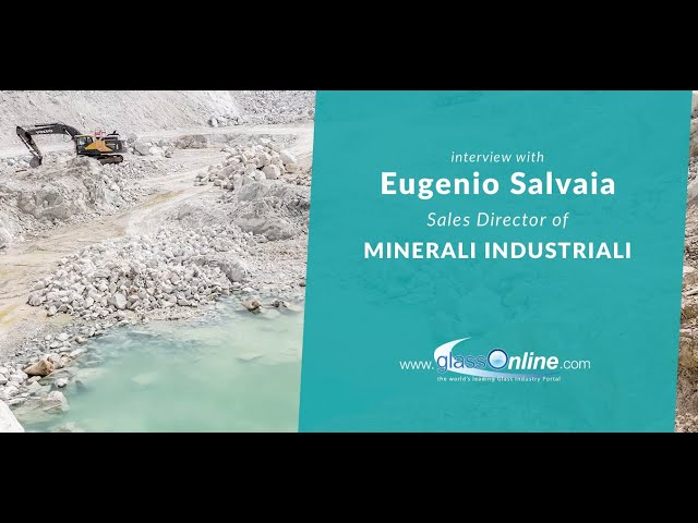 Video Interview with Eugenio Salvaia of Sales Director of Minerali Industriali