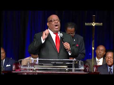 Supt. Melton Timmons Preaching Can't We All Just Get Along and Unity at COGIC Holy Convocation!