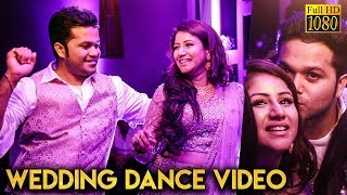 FULL VIDEO: Alya Manasa - Sanjeev's Super Romantic Wedding Dance | Candid Moments