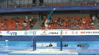 TSUKAHARA Naoya (AUS) – 2014 Artistic Worlds, Nanning (CHN) – Qualifications Parallel Bars