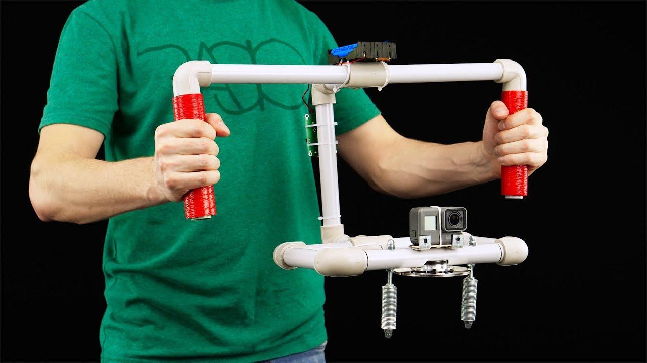 DIY Self Balancing Gyroscopic Camera Stabilizer