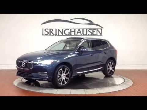 2018 Volvo Xc60 In Denim Blue Metallic 024975 Youtube