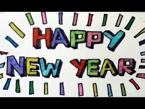 10-super-easy-font-ideas-to-write-happy-new-year,-happy-birthday-etc-by-artyshils