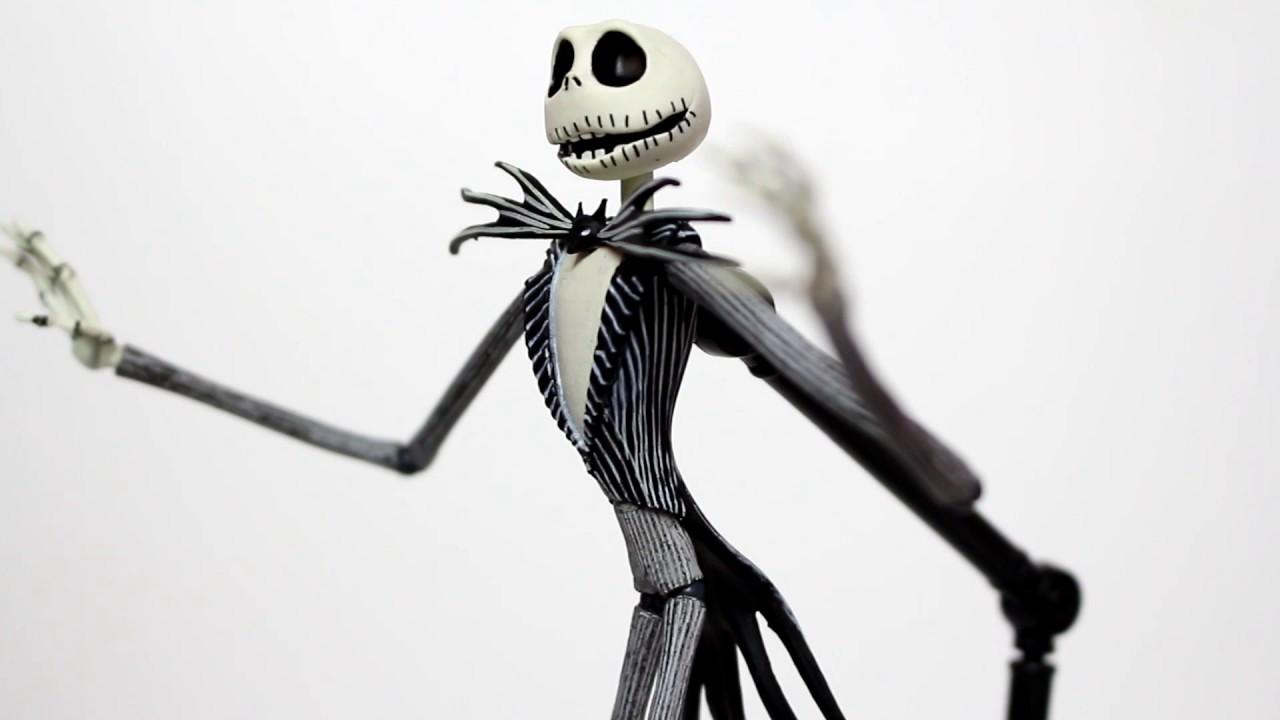 DST Nightmare Before Christmas Jack Skellington Figure Review - YouTube