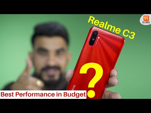 Realme C3 review: A powerful PUBG phone at Rs 6,999