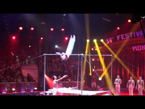Prime Entertainment High Bar Act 2012 Flying to the stars