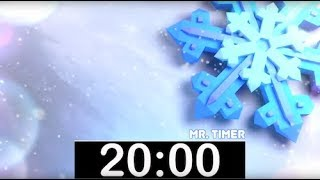 20 Minute Timer with Classical, Calm Music! Countdown Timer for Kids, Piano Instrumental Music!