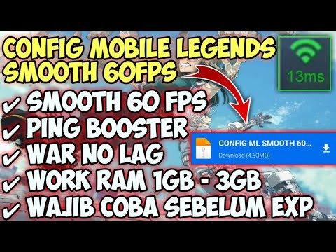 NEW!! CONFIG ML SMOOTH 60Fps + PING BOOSTER PATCH…