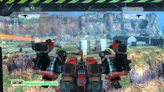 Front Mission Evolved PC gameplay HD