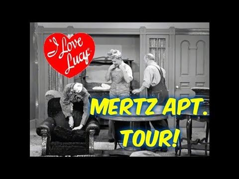 I Love Lucy Huge Blooper Mertz S Apartment Tour Mistake