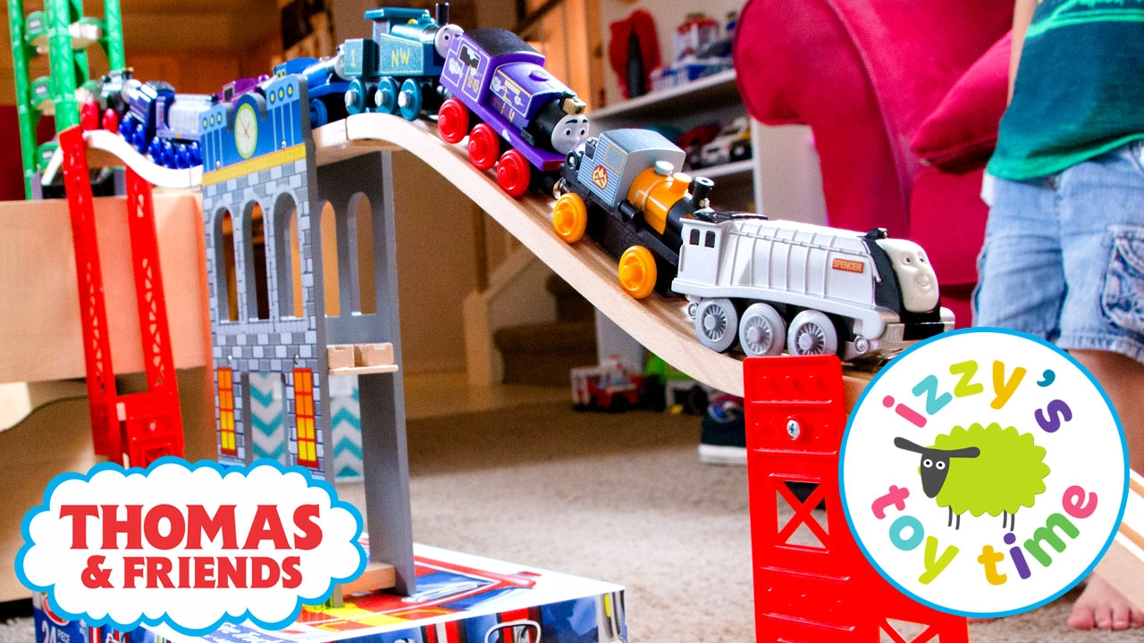 Fisher price thomas amp friends trackmaster treasure chase set new - Thomas And Friends Trackmaster Treasure Chase Wooden Railway Combo Track Fun Toy Trains For Kids Youtube