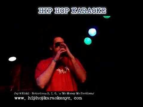 "Hip Hop Karaoke NYC - Jay + Nicki - ""Mo Money Mo Problems"""