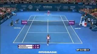 2014 Tennis Tournament Brisbane 2014 Serena Williams 1 vs Maria Sharapova 3 SF #SerenaWill