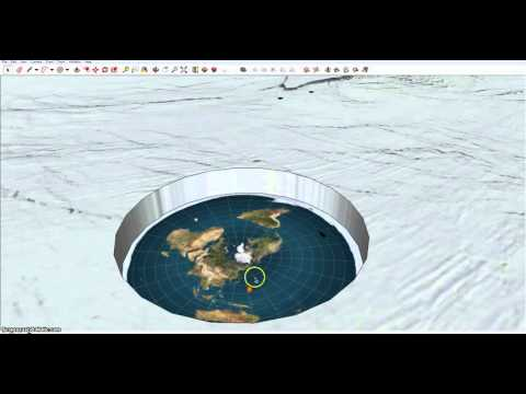 Flat Earth   Is there an edge   finally explained