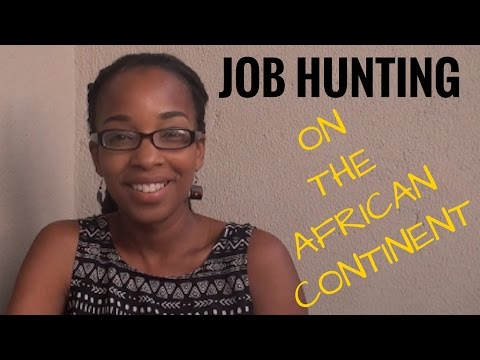 A Chat: Job Hunting On The African Contintent