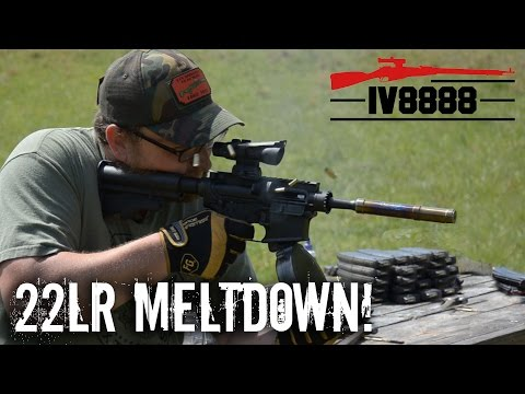 ULTIMATE CMMG 22 LR MELTDOWN!