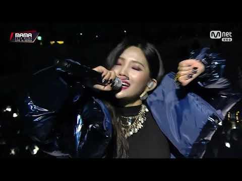 SOYEON x SUNWOO - Supermagic (Cover Supreme Team) @ 2018 MAMA PREMIERE IN KOREA | 1080p 60fps