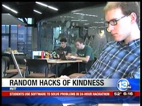 RIT on TV: Global Hack-a-thon 2012