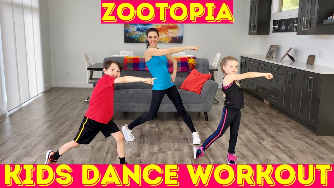 Kids Workout Dance - Zootopia Dance!