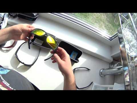 Поляризационные очки для рыбалки с Aliexpress за 5.2$
