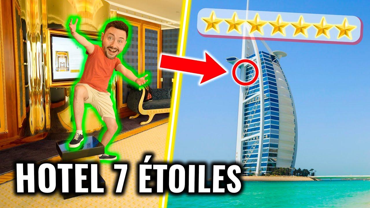 Je teste le 1er Hotel au Monde 7 étoiles ! (il est Fou)