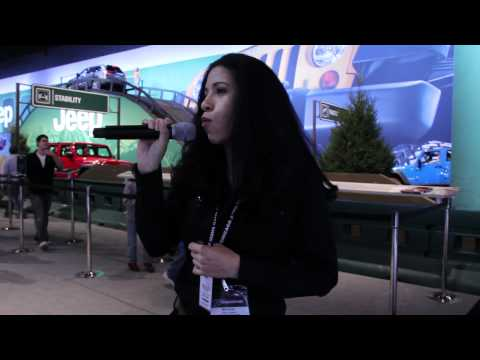 Mimi Smith - Emcee at Chicago Auto Show 2012 for Chrysler - Long Version