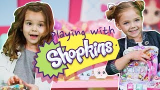 Playing With Shopkins | WigglePop | Silly Street
