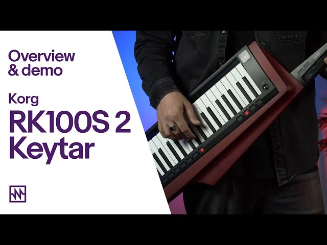 Korg RK100S 2 Keytar Synthesizer/Vocoder: Demo & Overview
