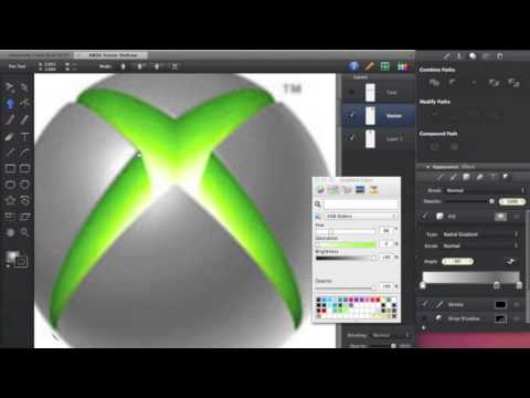 Speed Vector Drawing - XBOX 360 Logo