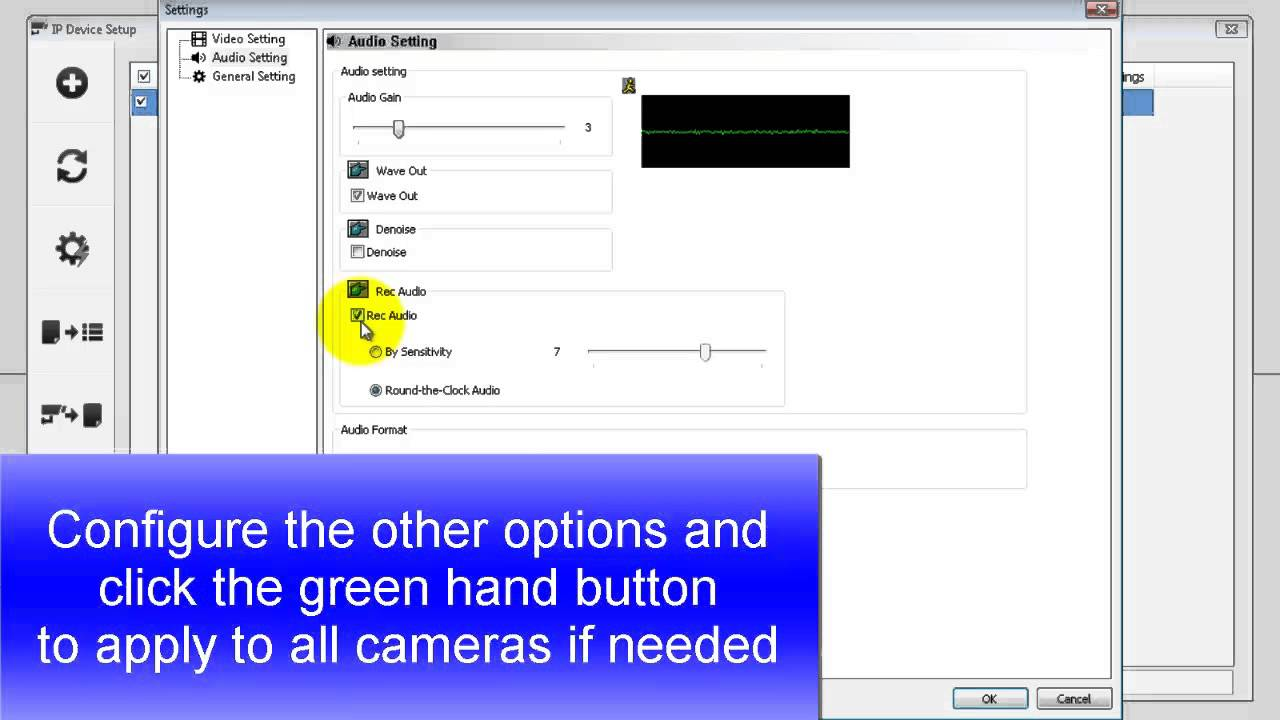 Quick Support Vms How To Enable The Audio Settings In Gv 14 Live Sound Setup Diagram