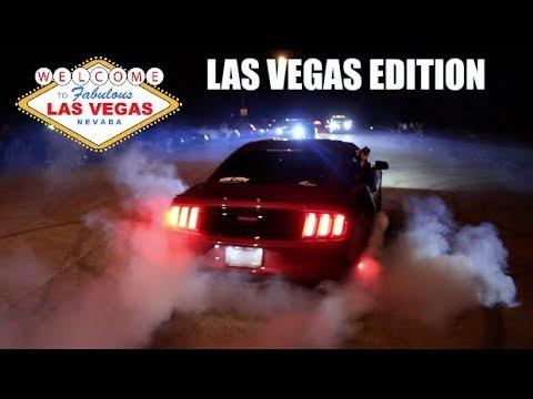 THE REAL REASON I WENT TO VEGAS! Las Vegas Street Racing & Takeovers..