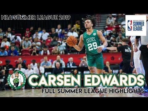 CARSEN EDWARDS FULL SUMMER LEAGUE HIGHLIGHTS - Condensed Summer League 2019 Highlights