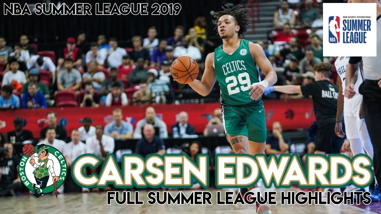 Carsen Edwards Balls Out In Summer League Gets Guaranteed Contract