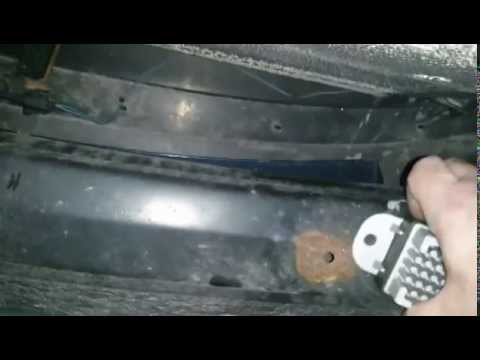 Changing The Fan Relay On A Dodge Caravan Youtube