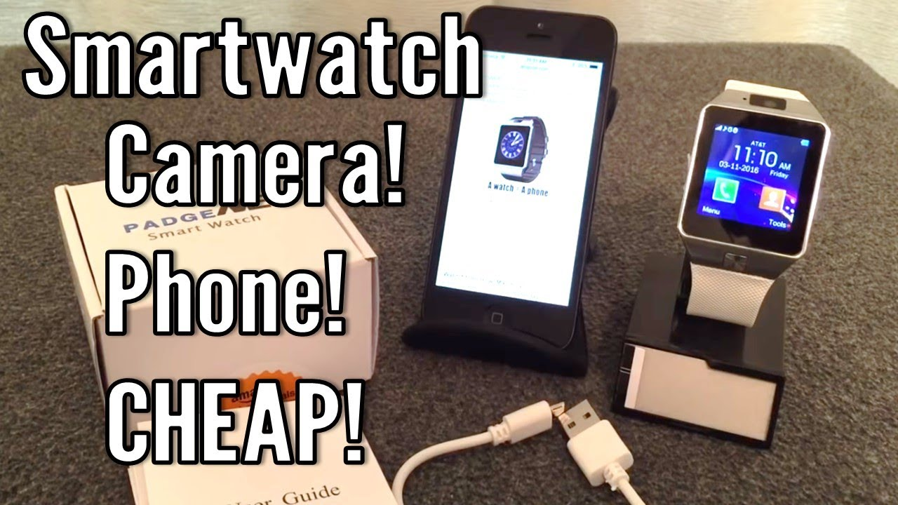 080dba8cf7d Review  DZ09 Bluetooth SmartWatch with Camera - YouTube