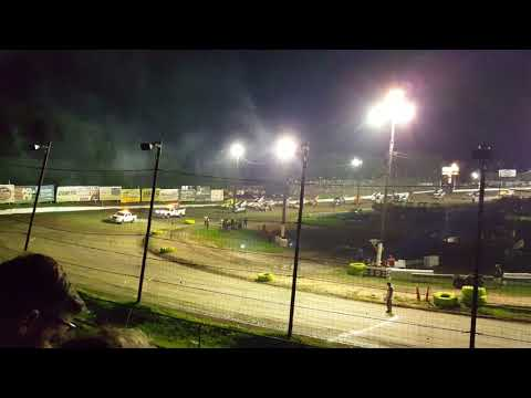 Grandview Speedway Arctic Cat All-stars Sprint Cars 8.17.17