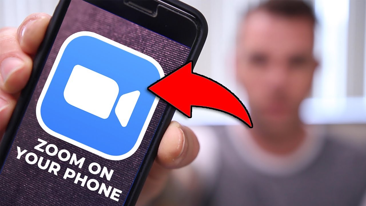 How To Use Zoom Cloud Meeting App (Android & iPhone)