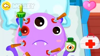 Little Panda's Hospital Baby Learn To Help Cute Monsters   Fun Educational Kids Games By BabyBus