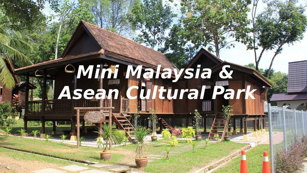 Mini Malaysia Asean Cultural Park Youtube