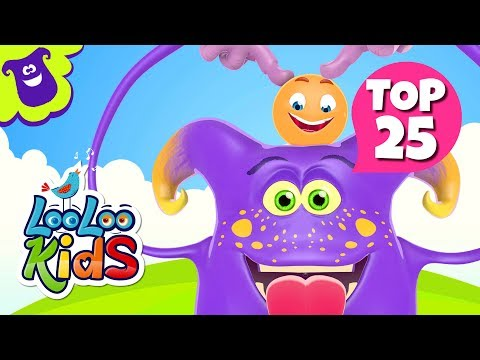 TOP 25 Greatest Songs for Kids on YouTube