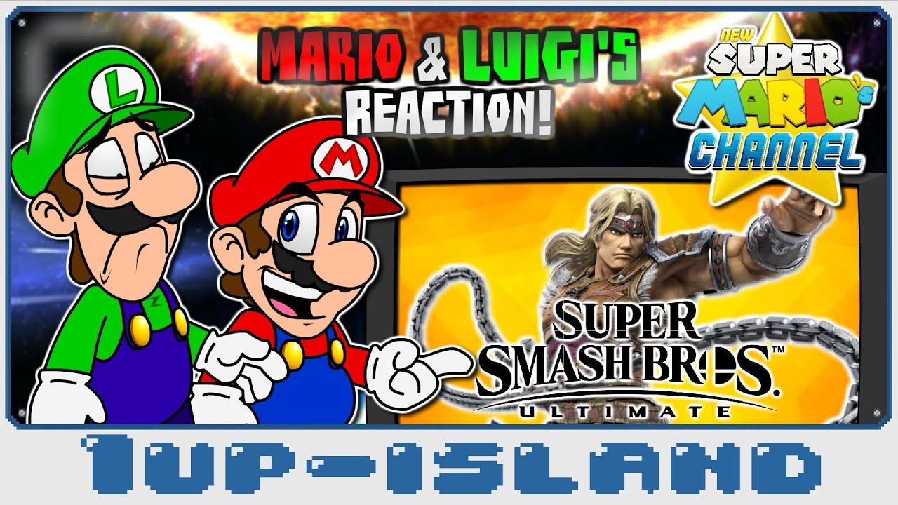 NSMC: Mario Bros. React to Simon Reveal Trailer! (Super Smash Bros. Ultimate)