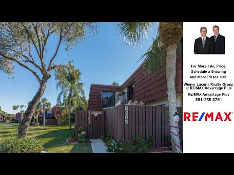 8365 Boca Rio Drive, Boca Raton, FL Presented by Wiener Lucena Realty Group at RE/MAX Advantage