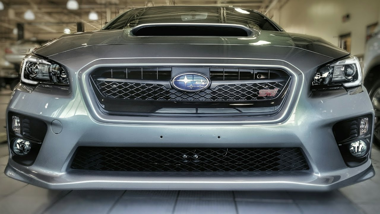 2017 Subaru Wrx Sti Turbo 6 Sd Review Exhaust And In Depth How To